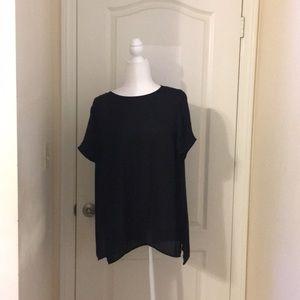 DR2 black blouse